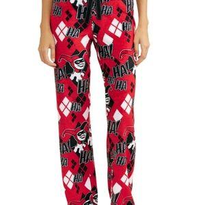 DC Comics Women Lounge Pants Pajamas Harley Quinn